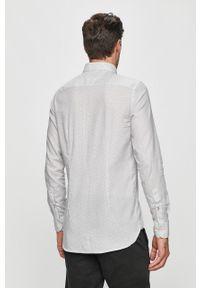 Biała koszula TOMMY HILFIGER na co dzień, długa, casualowa, button down