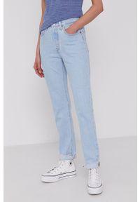 Levi's® - Levi's - Jeansy 501. Okazja: na spotkanie biznesowe. Kolor: niebieski. Styl: biznesowy
