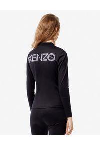 Kenzo - KENZO - Kurtka z logo. Kolor: czarny. Styl: sportowy