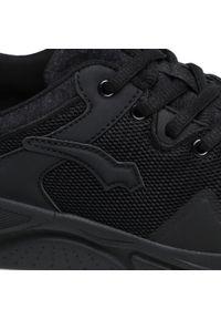 Bagheera - Sneakersy BAGHEERA - Vision 86495-2 C0102 Black/Dark Grey. Okazja: na co dzień. Kolor: czarny. Materiał: skóra ekologiczna, materiał. Szerokość cholewki: normalna. Sezon: lato. Obcas: na płaskiej podeszwie. Styl: casual