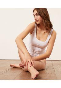 Coton 360 Podkoszulek Z Elastycznej Bio Bawełny - Biały - Etam. Kolor: biały. Materiał: bawełna