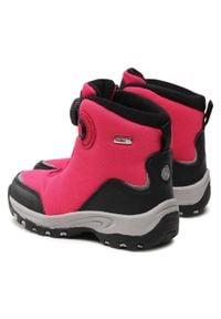 Reima - Śniegowce REIMA - Orm 569434 4650. Okazja: na spacer. Kolor: różowy. Materiał: skóra, materiał. Szerokość cholewki: normalna. Sezon: zima #3
