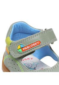 Zielone sandały
