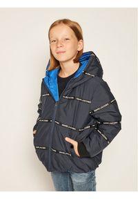 Little Marc Jacobs Kurtka puchowa W26096 D Granatowy Regular Fit. Kolor: niebieski. Materiał: puch