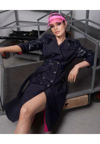 Czarny płaszcz CATERINA elegancki