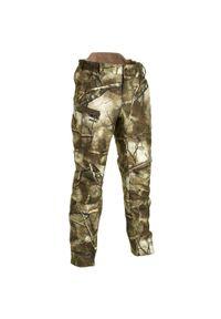 SOLOGNAC - Spodnie myśliwskie ciepłe wodoodporne Solognac Treemetic 500. Materiał: tkanina