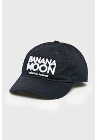 Niebieska czapka z daszkiem Banana Moon