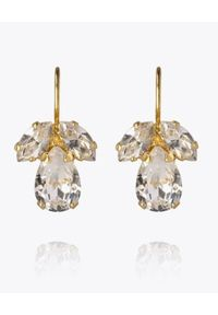 CAROLINE SVEDBOM - Kolczyki z kryształami Timo. Materiał: złote. Kolor: złoty. Kamień szlachetny: kryształ
