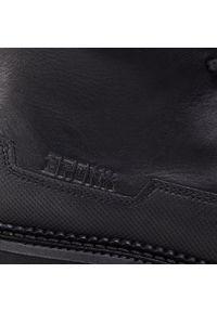 Czarne buty trekkingowe Bronx z cholewką