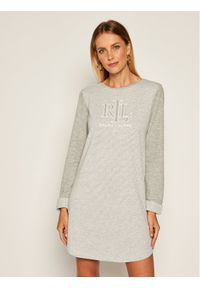 Lauren Ralph Lauren Koszula nocna ILN32013 Szary Regular Fit