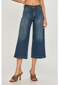 Niebieskie jeansy bootcut MAX&Co.