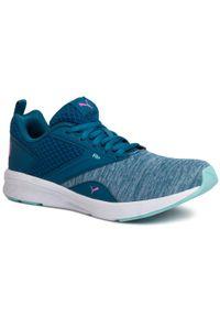 Niebieskie buty do fitnessu Puma z cholewką, na co dzień