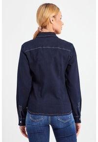 TwinSet - KOSZULA JEANSOWA ACTITUDE TWINSET. Okazja: na co dzień. Materiał: jeans. Styl: elegancki, casual