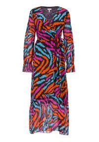 Escada Sport Sukienka codzienna Dyxy 5032709 Kolorowy Regular Fit. Okazja: na co dzień. Wzór: kolorowy. Typ sukienki: proste, sportowe. Styl: sportowy, casual