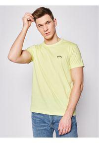 Żółty t-shirt BOSS
