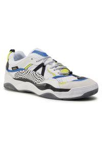 Białe buty sportowe Vans z cholewką, na co dzień
