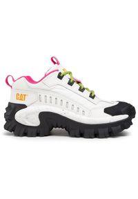 CATerpillar Sneakersy Intruder Oxford P724553 Biały. Kolor: biały