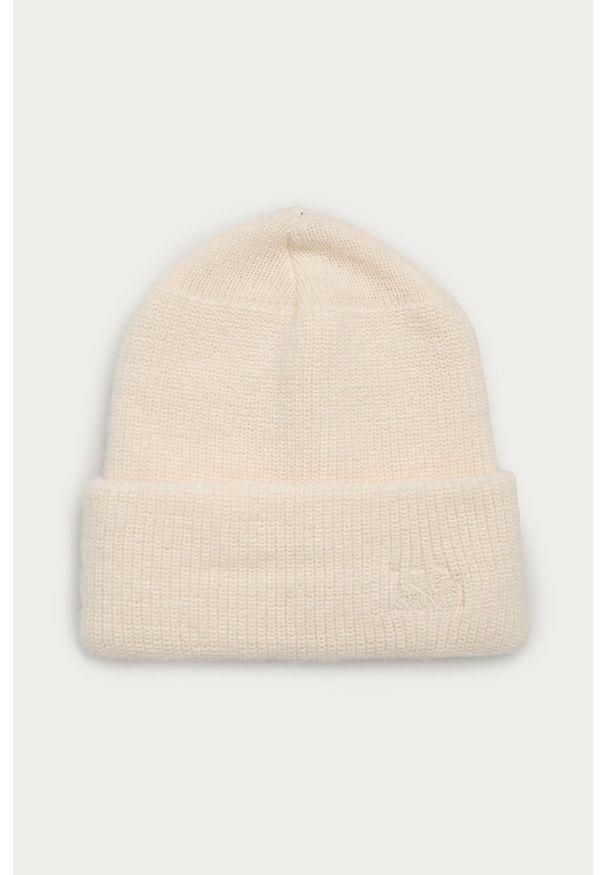 Kremowa czapka Levi's® biznesowa, gładkie