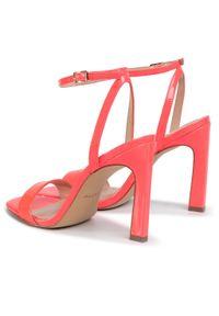 Różowe sandały Aldo eleganckie
