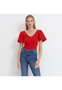 Czerwona bluzka Mohito