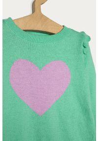 Zielony sweter GAP casualowy, z nadrukiem, na co dzień