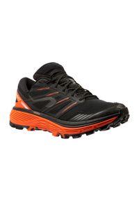 EVADICT - Buty do biegania w terenie męskie Evadict MT Cushion Trail. Kolor: wielokolorowy, czerwony, czarny. Materiał: kauczuk. Szerokość cholewki: normalna