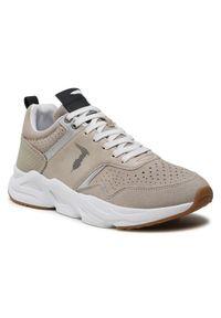 Trussardi Jeans - Trussardi Sneakersy 77A00344 Szary. Kolor: szary