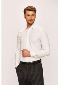 Biała koszula Emanuel Berg długa, elegancka