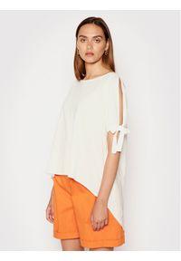 Rinascimento Bluzka CFC0103448003 Biały Regular Fit. Kolor: biały