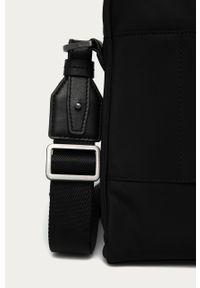 Czarna torba Hugo gładkie