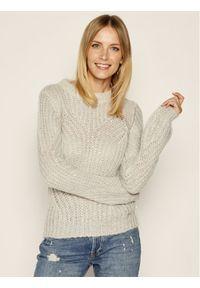 Szary sweter klasyczny Guess