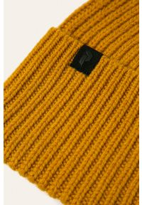 Żółta czapka Peak Performance