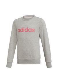 Bluza Adidas długa, w kolorowe wzory, z długim rękawem, sportowa