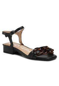 Czarne sandały Giorgio Fabiani