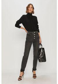 Czarne jeansy Miss Sixty klasyczne, na co dzień, z podwyższonym stanem
