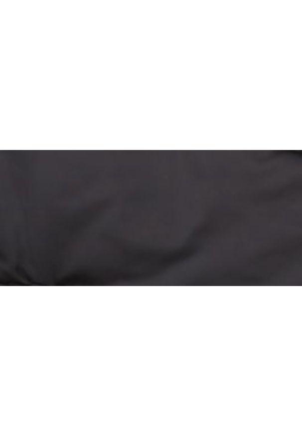 Czarna kurtka TOP SECRET na zimę, w kolorowe wzory, krótka, elegancka