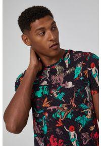 medicine - Medicine - T-shirt bawełniany Urban Punk. Kolor: czarny. Materiał: bawełna. Wzór: nadruk