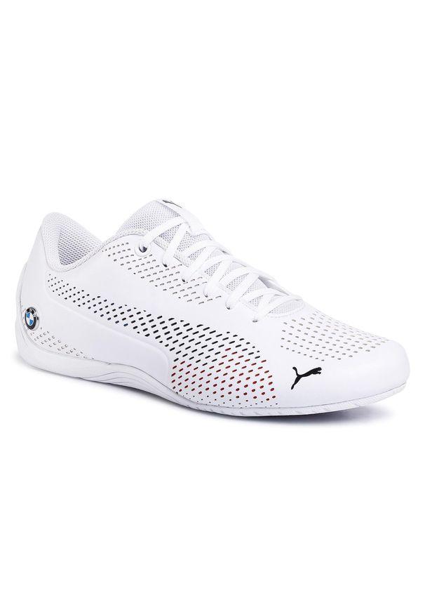 Białe buty sportowe Puma z cholewką