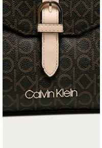 Brązowa listonoszka Calvin Klein mała