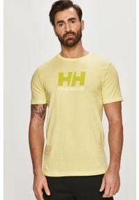 T-shirt Helly Hansen z aplikacjami, na co dzień, casualowy