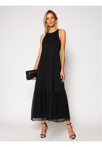 Czarna sukienka wieczorowa Marella