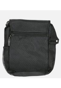 Casu - Czarna torba męska na ramię casu 0466. Kolor: czarny