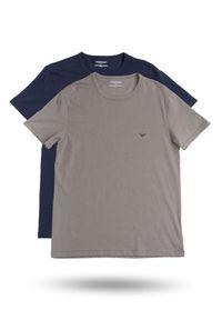 T-shirt Emporio Armani z nadrukiem