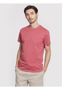 Różowy t-shirt Vistula