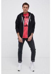 Mc2 Saint Barth - MC2 Saint Barth - T-shirt bawełniany. Okazja: na co dzień. Kolor: różowy. Materiał: bawełna. Wzór: nadruk. Styl: casual