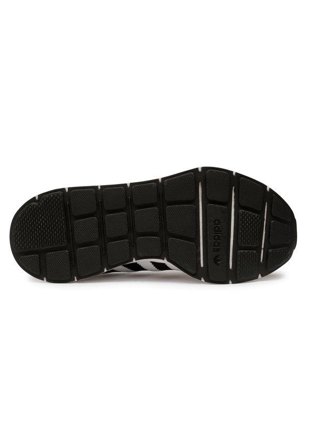 Białe buty sportowe Adidas na co dzień, z cholewką