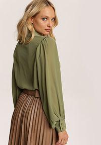 Renee - Zielona Koszula Urricea. Kolor: zielony