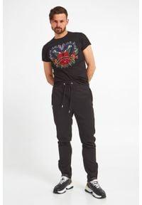 T-shirt John Richmond z krótkim rękawem, krótki, w kolorowe wzory