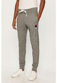 Szare spodnie dresowe Champion z aplikacjami #4