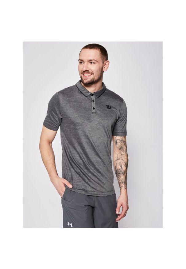 Czarna koszulka sportowa Wilson polo